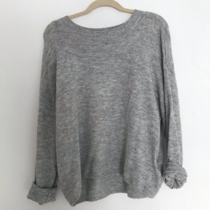 H&M Gray Cozy Sweater | Size L